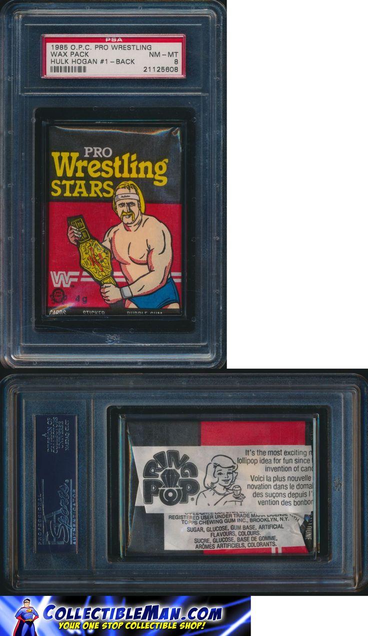 Wrestling Cards 183435: 1985 O.P.C. Pro Wrestling Stars Factory Sealed Wax Pack Psa 8 Hogan #1 On Back ! -> BUY IT NOW ONLY: $279 on eBay!