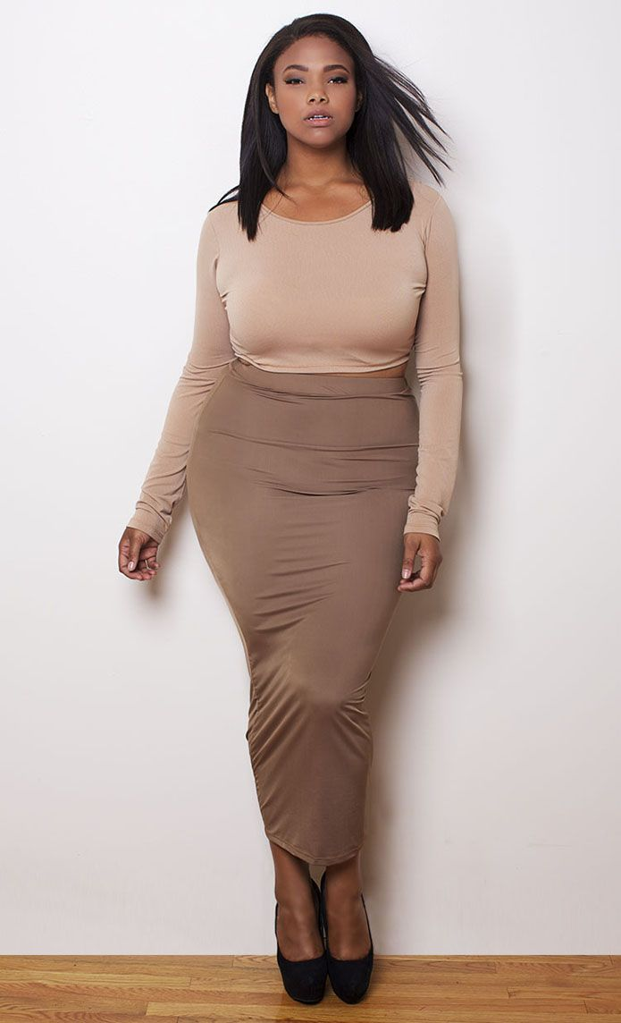 PLUS Model Mag: Anita Marshall