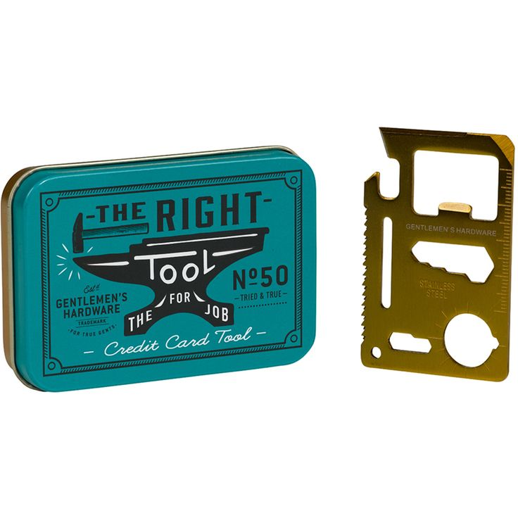 Buy Gentlemen's Hardware Credit Card Tool today at IWOOT, at a great price. Get great gifts, with FREE delivery available.