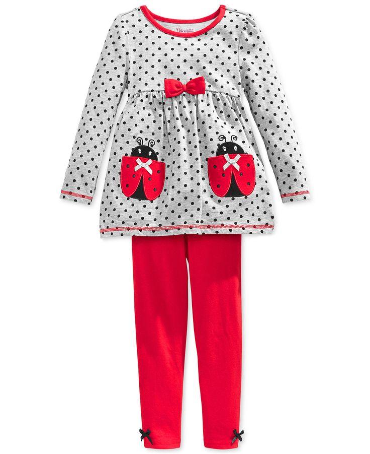 Nannette Baby Clothing Ladybugs