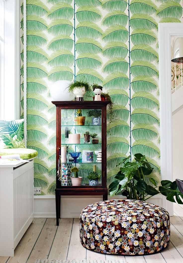 Palm Leaf Wallpaper From Sanderson Good Looking