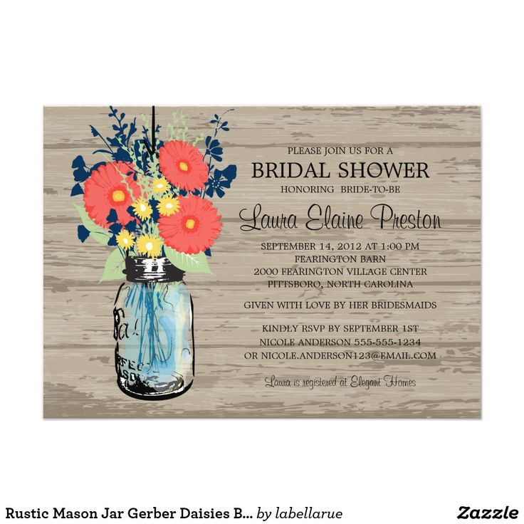 1036 best country wedding invitations images on pinterest, Baby shower invitations