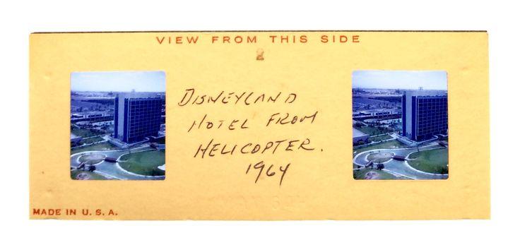 Disneyland Hotel. Anaheim, CA 1964