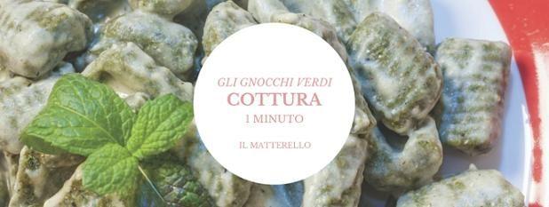 Gli gnocchi verdi! COTTURA 1 MINUTO  #gnocchi #verdi #ilmatterello