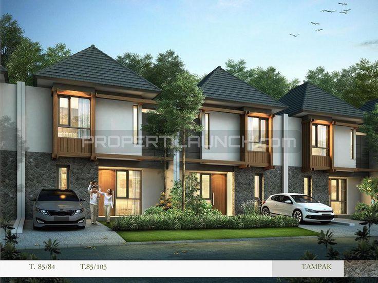 Rumah cluster Kireina Park BSD City.