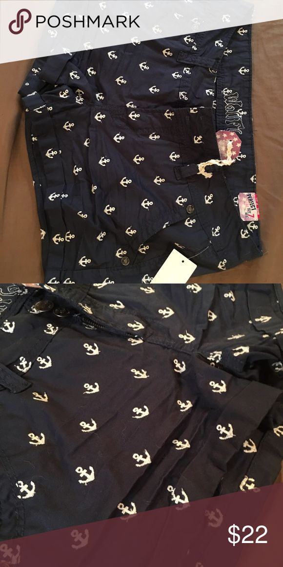 Anchor shorts! Brand new shorts still have tags on them! Also have a white pair with blue anchors! Shorts