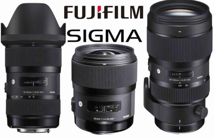 Rumor Sigma Will Make Fujifilm X Mount Lenses If X Series Camera Sales Increase By 20 Sigma Lenses For Fujifilm Back Digital Camera Cameras For Sale Sigma