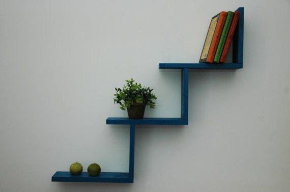 Repisa estante estantes-repisa pared estantes por WoodmadeCreation