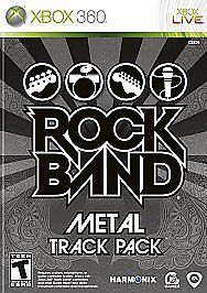 Rock Band: Metal Track Pack (Microsoft Xbox 360) Action/Adventure - Refurbished