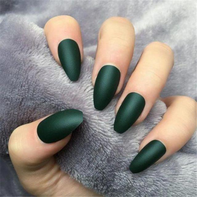 Born Pretty 60 Colors Matte Uv Gel Nail Polish In 2020 Green Nails Dark Green Nails Uv Gel Nail Polish