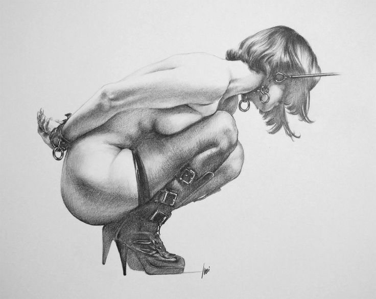 Have drawings of womens bondage