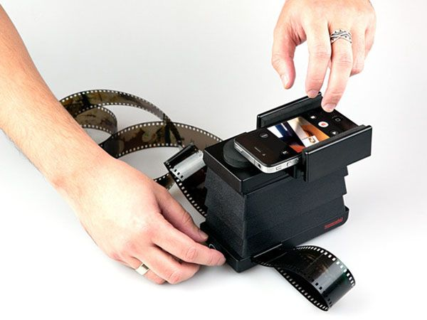 Make old film negatives digital with your smartphone