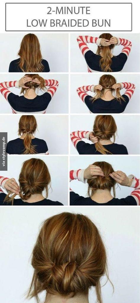 Die 2-Minuten Frisur