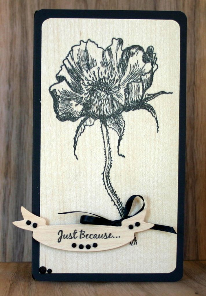Love the contrast of the fragile flower agains a wooden background