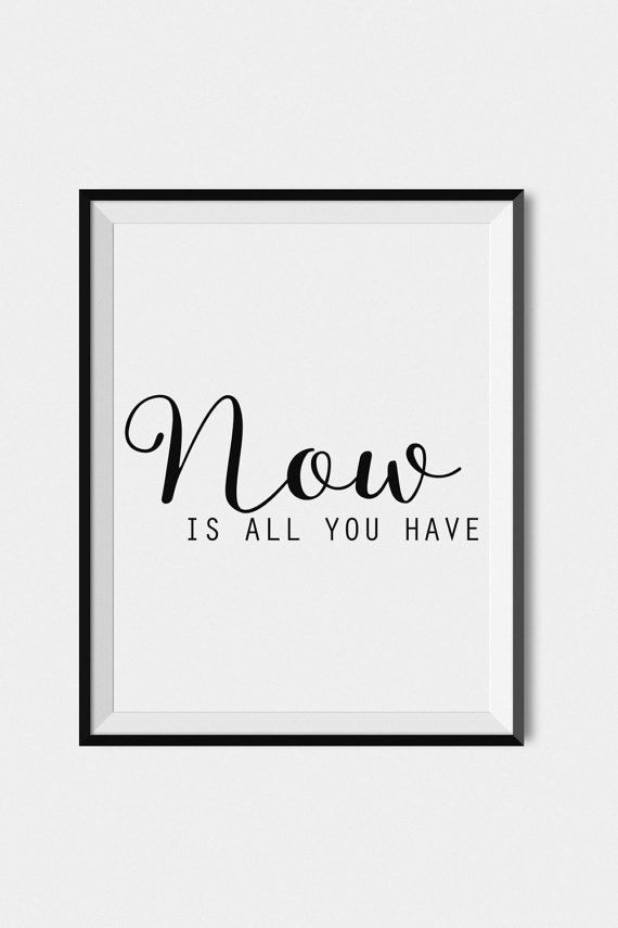 Black And White Art Print Quote Wall Art Digital Download Art Typography Wall Art Print Inspirat In 2020 Wall Art Quotes Quote Prints Typography Wall Art