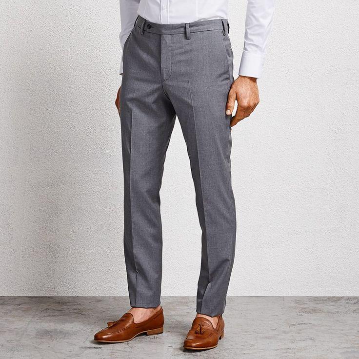 Hoffman Grey Suit Pant #suit #greysuit #greysuitpant #suitpant #aquila