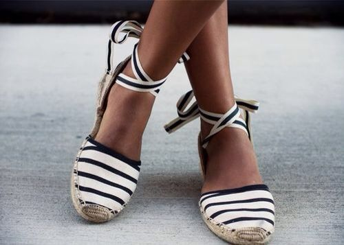yes, please! Espadrilles, always a CLASSIC and meaning of GREAT WARM WEATHER!