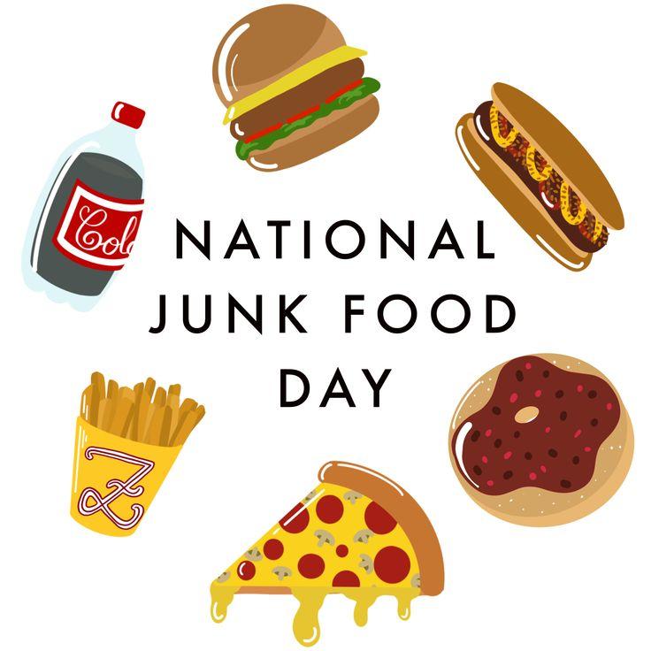 21st of July National Junk Food Day Vegan junk food