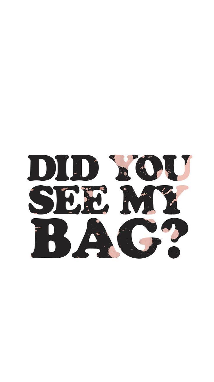 BTS bangtan kpop wallpaper lockscreen her love yourself mic drop did you see my bag