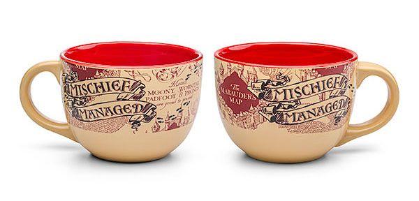 95eaec4d16af3a91d26f8c1787f08e69  soup mugs soup bowls Mischief Managed Coffee Mug Harry Potter Mischief Managed Coffee Mug