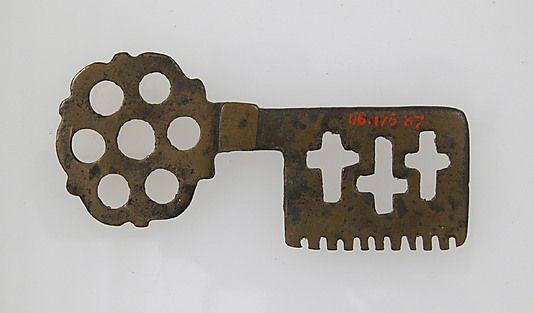 Roman Key, 1st - 7th century