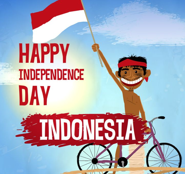 Happy Independence Day Indonesia :)