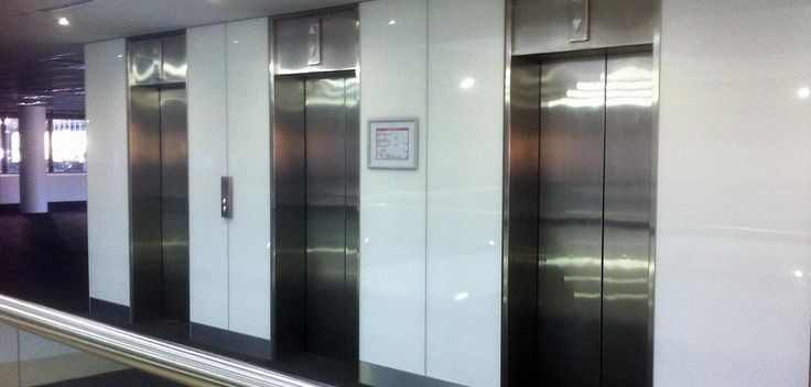 Albedor Ultra Finish panels used in hospital cladding application (E0 Cetec Certified, VOC free, BCA Group 3)