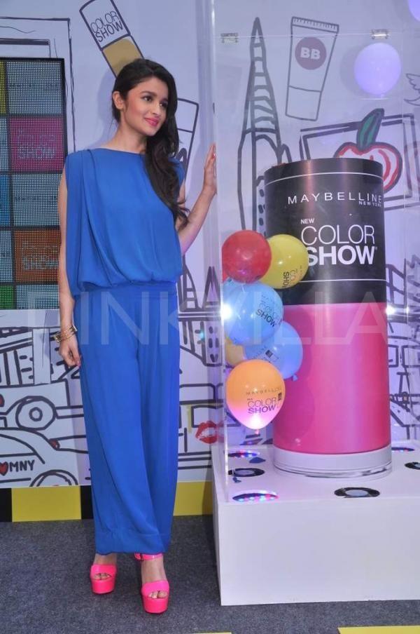 Alia launches Maybelline's new color range | PINKVILLA