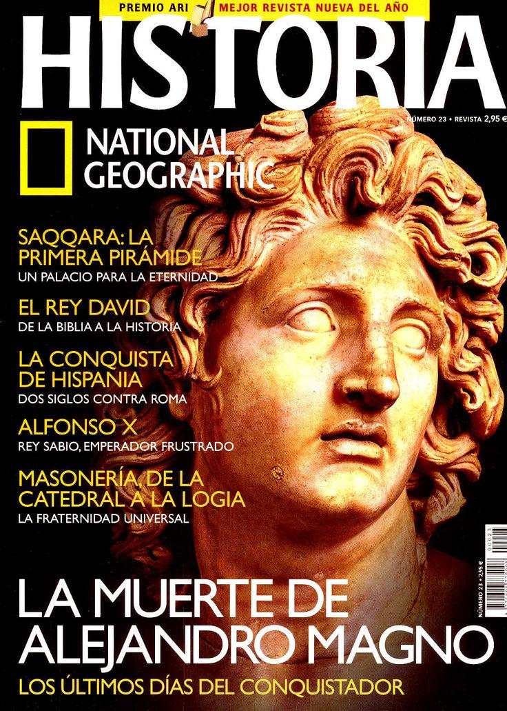 Revista National Geographic España Ed. RBA Revistas, S.A. Licenciataria de NG Society, NGTV [National Geographic Television Edition] 1997-2016 http://www.nationalgeographic.com.es/categoria/ng_magazine