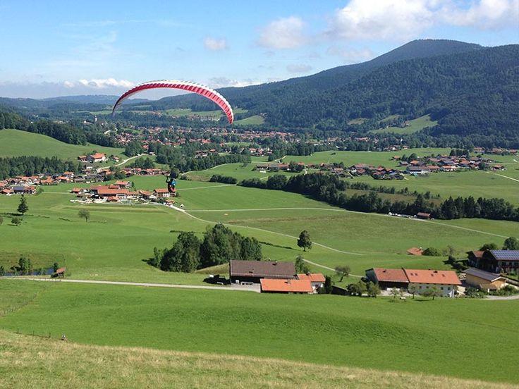 Gleitschirm-Kombikurs mit Papillon Ruhpolding - Papillon Gleitschirm-Flugschule Ruhpolding