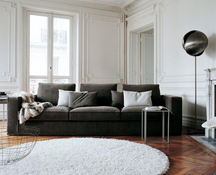 White Leather Sofa Stylish Sofa made by Omnia