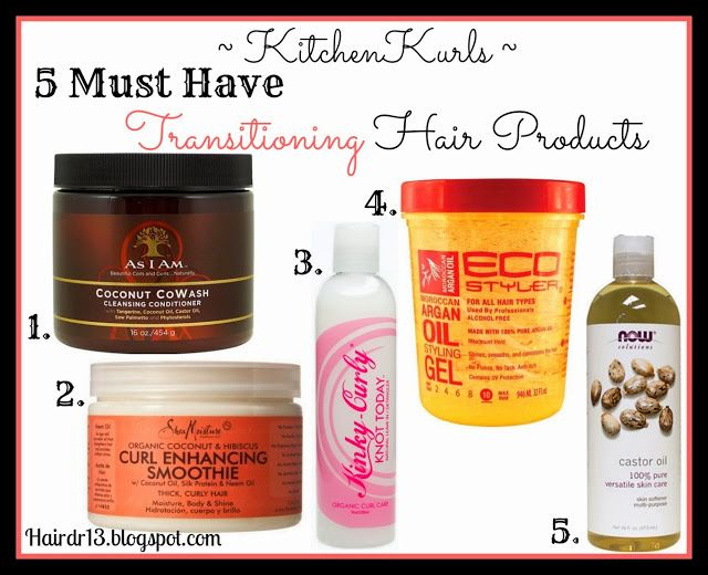 http://hairdr13.blogspot.com | KitchenKurls | Transitioning Hair Regimen
