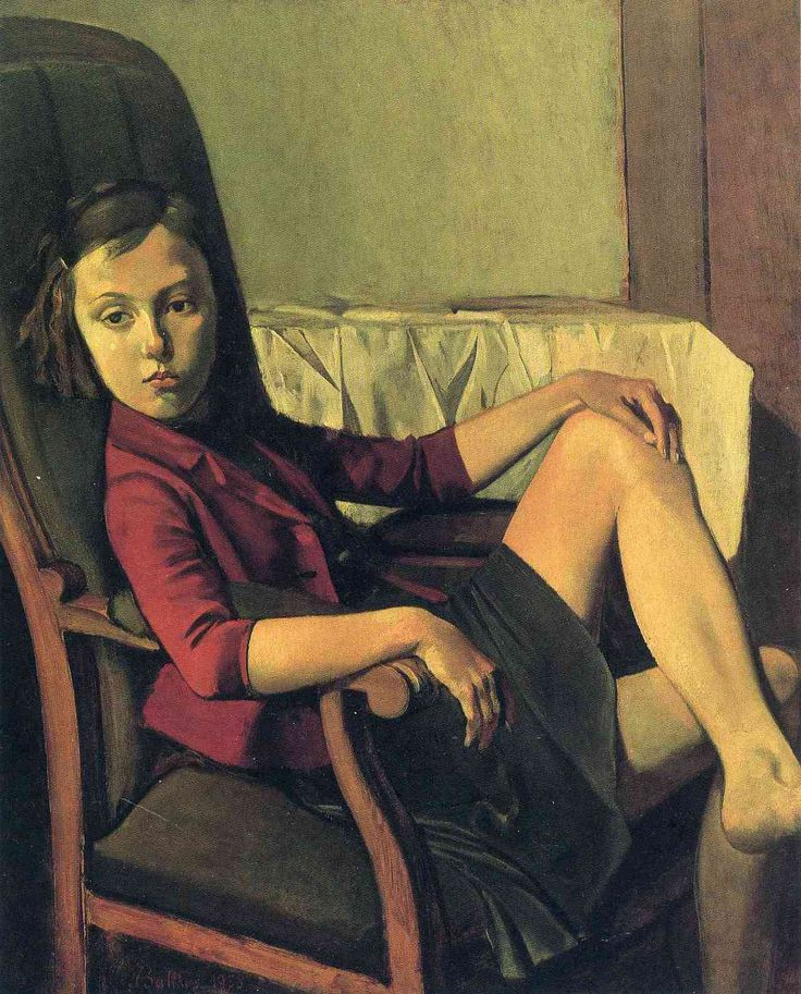Therese, by Balthus