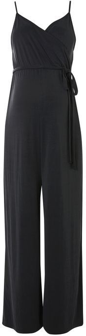 Topshop Maternity ribbed cupro jumpsuit