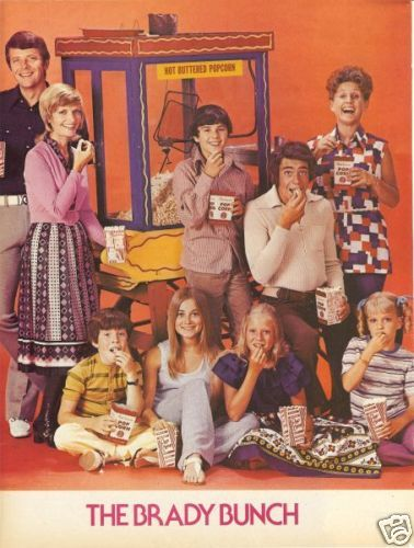 The Brady Bunch -another one of my very favorites of the 70's. I loved enjoying them all over again with my daughter this past year. It's funny that when you watch the first minute of the show, you immediately remember which episode it is.