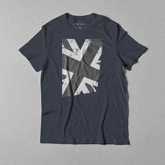 Queen & Country, London, Union Jack t-shirt (029)