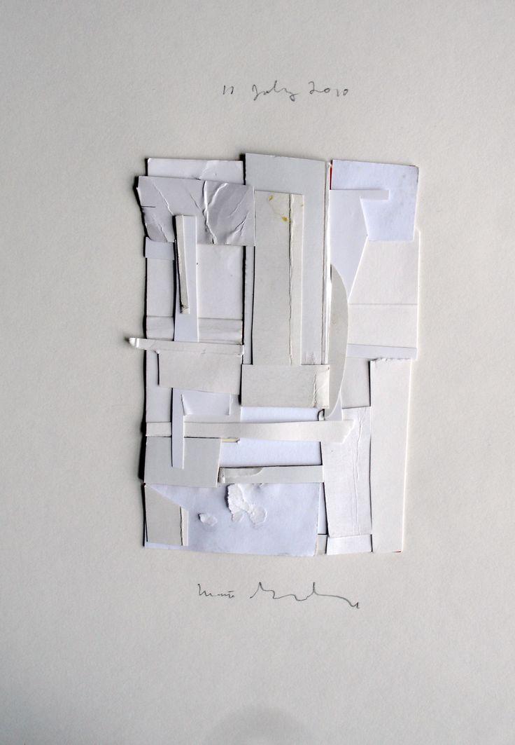 white collage