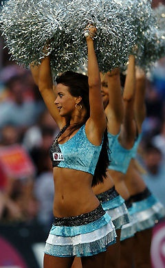 Cronulla Sharks Cheerleaders 2012