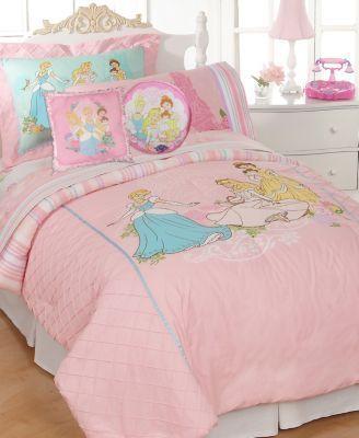 Disney Bedding, Kids Disney Princesses Comforter Sets Bedroom