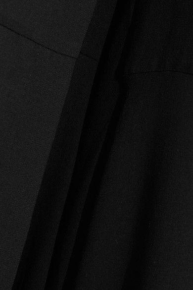 McQ Alexander McQueen - Chiffon Wide-leg Pants - Black - IT48