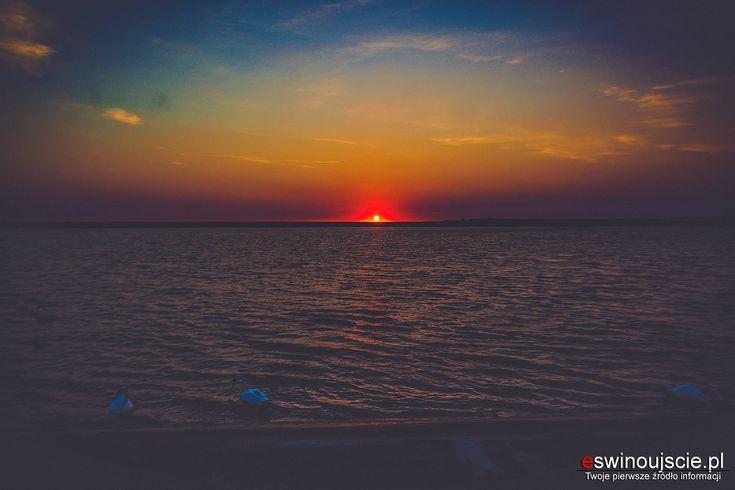 Takie wschody słońca tylko latem w Świnoujściu