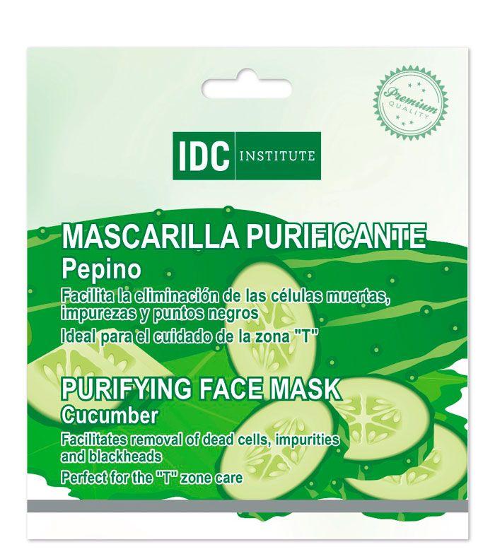 IDC Institute - Mascarilla con pepino - Purificante