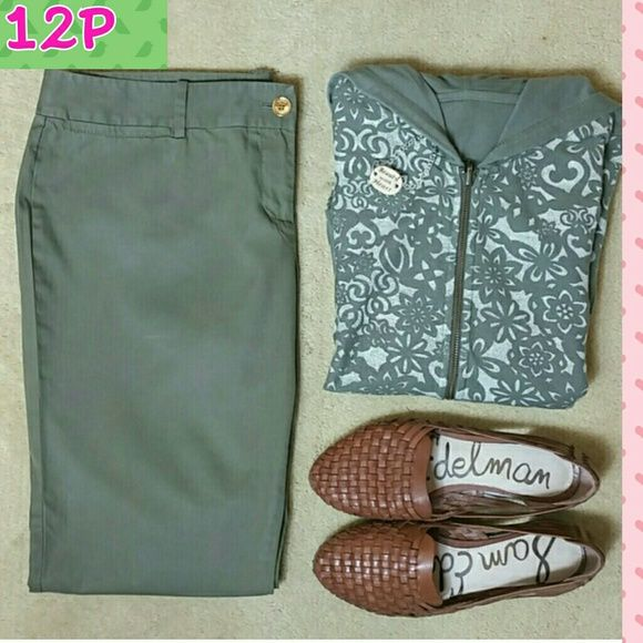 SALEMichael Kors olive pantsHP  Wear these ankle fit pants by MICHAEL Michael Kors anytime! Made of 100% cotton! MICHAEL Michael Kors Pants
