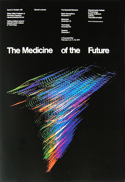 Medicine of the Future Poster by Jacqueline S.Casey