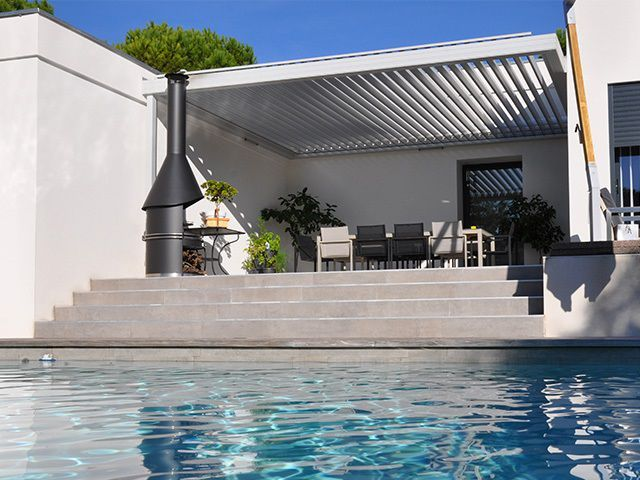 17 best ideas about pergola bioclimatique on pinterest. Black Bedroom Furniture Sets. Home Design Ideas