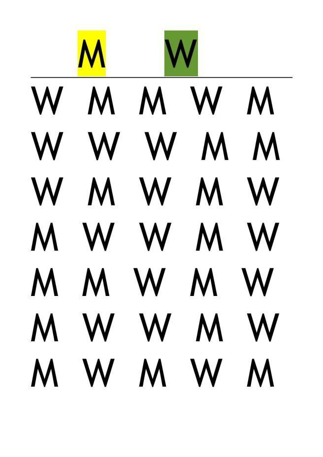 Buchstaben suchen 4a-page-001 Aufmerksamkeitstraining von tinas blumenwiese
