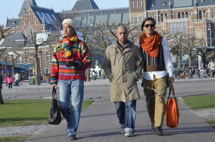 Street Walking at Museumplein, Amsterdam