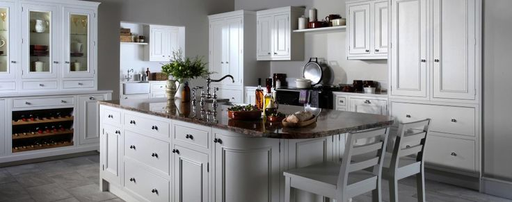 Salcombe inframe painted kitchen from Units Online