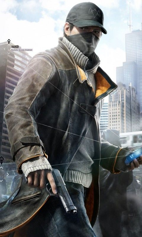 Marcus Holloway Watch Dogs Wallpapers in jpg format for free