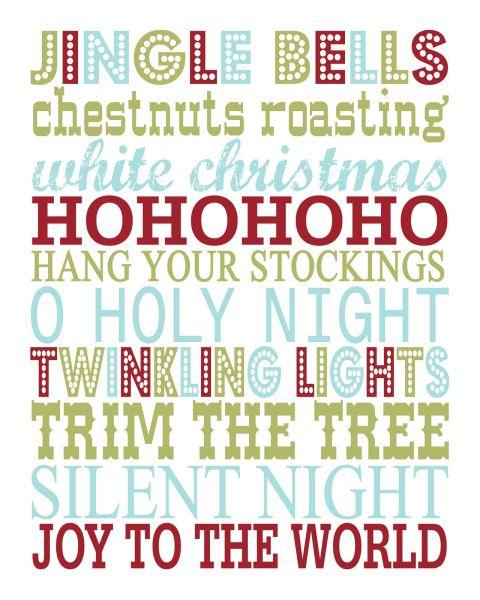 20 FREE Christmas Printables | Three Loud Kids